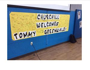 Welcome Tommy Greenwald