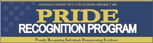 PRIDE Recognition Program Banner