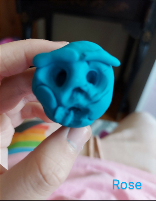 Rose's Playdough emoji