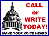 Call or write today! Make your voice be heard.