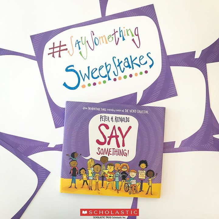Say Something Sweepstakes