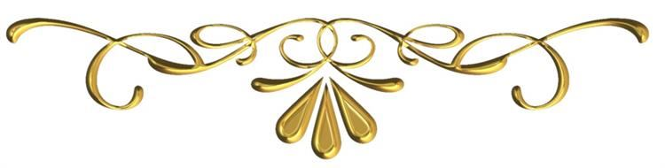 Decorative Gold Scroll
