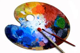 Art paint Palette