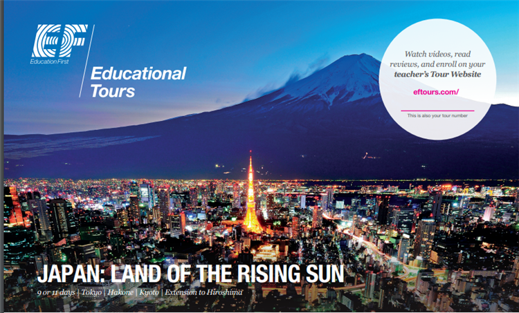Find out about 2020 international tours for students