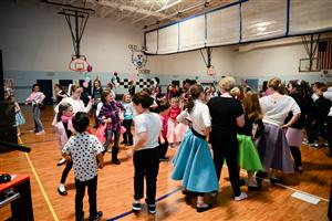 Sock Hop for Charity