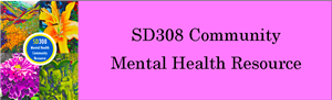 SD308 Community Mental Health Resource Banner Picture