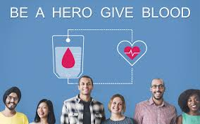 Be a hero give blood.
