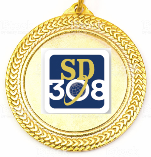 SD 308 Gold Medal