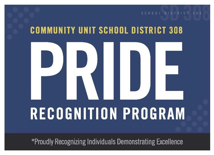 PRIDE: Proudly Recognizing Individuals Demonstrating Exelence