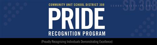 PRIDE - Proudly Recognizing Individuals Demonstrating Excellence