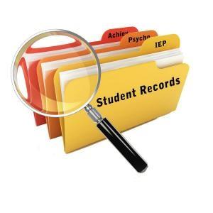 Student Records File Folders