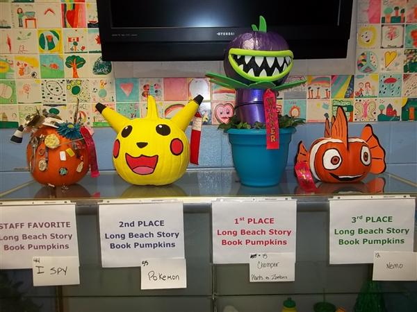 who are the winners of the story book pumpkin decorating contest rh sd308 org