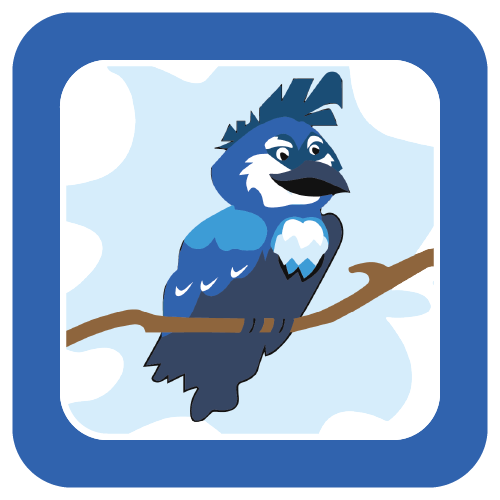 Brokaw bluebird logo