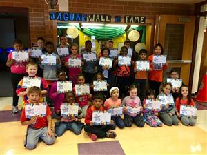 Character Counts Certificate Winners